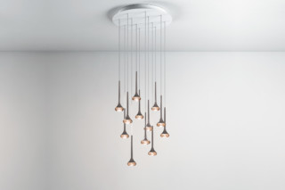 Fairy pendant lamp 12 round  by  Axolight