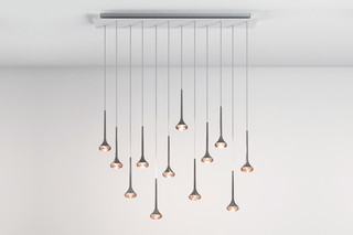 Fairy pendant lamp 12 straight  by  Axolight