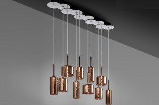 Spillray suspension 10 bronze  von  Axolight