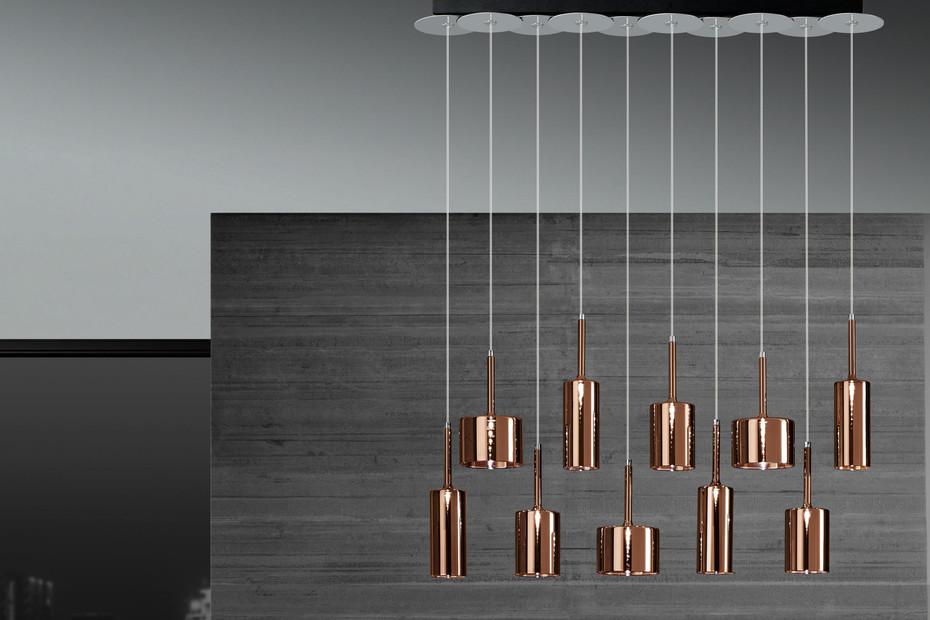 Spillray suspension 10 bronze