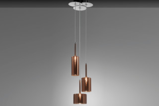Spillray suspension 3 bronze  by  Axolight