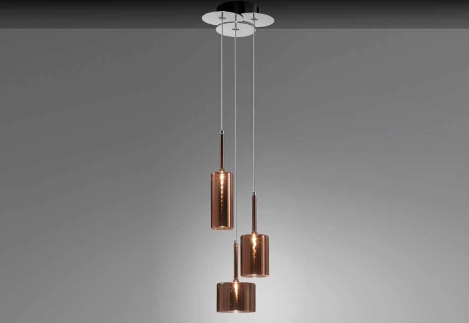Spillray suspension 3 bronze