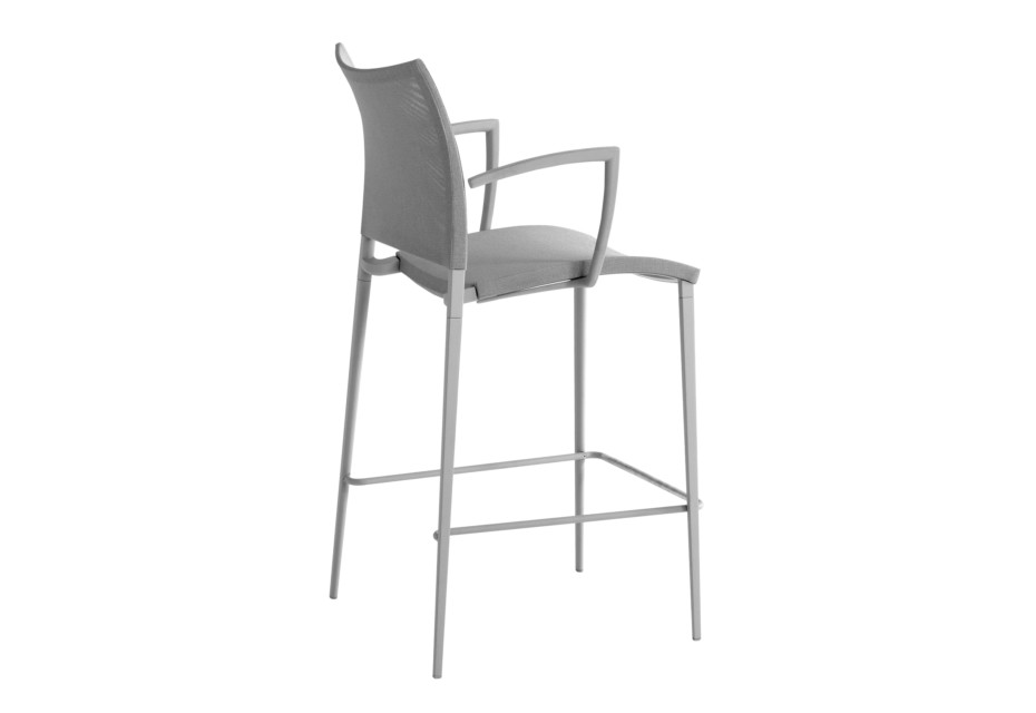 Sand Air bar stool with armrests
