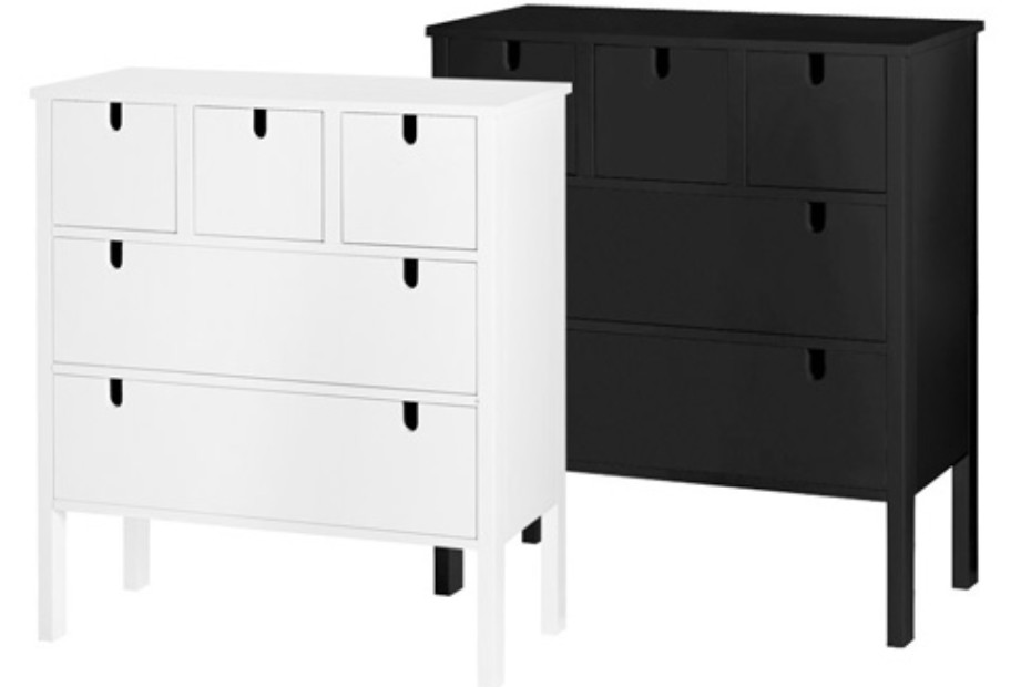 Wing chest drawers