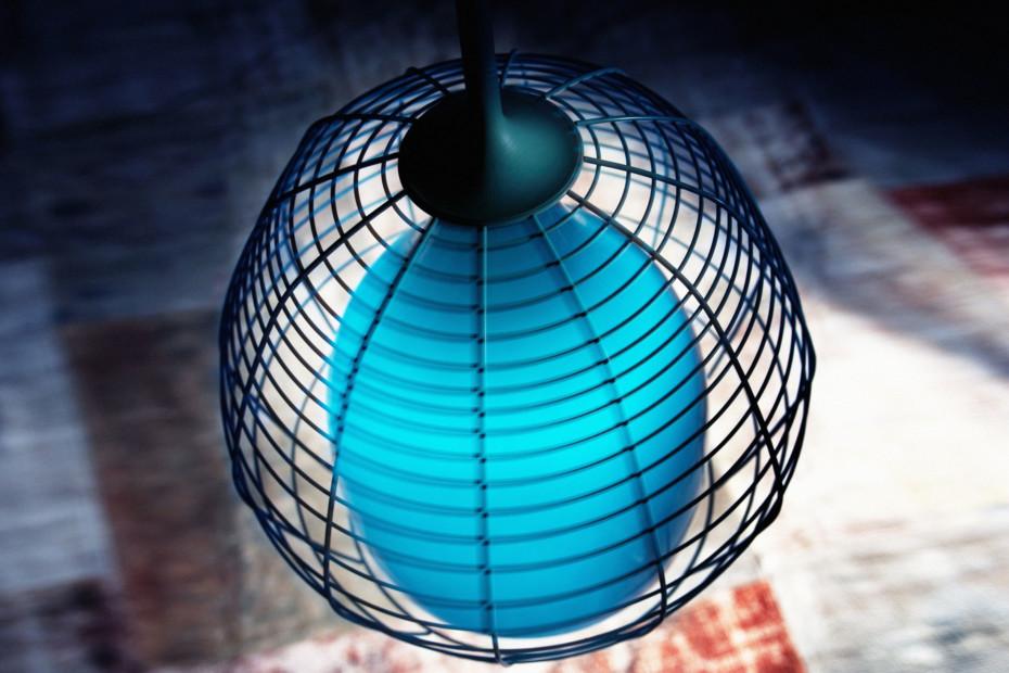 Cage Pendelleuchte groß