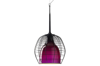 Cage suspension lamp small  by  DIESEL Successful Living