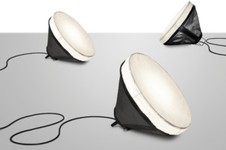 Drumbox floor lamp  by  DIESEL Successful Living