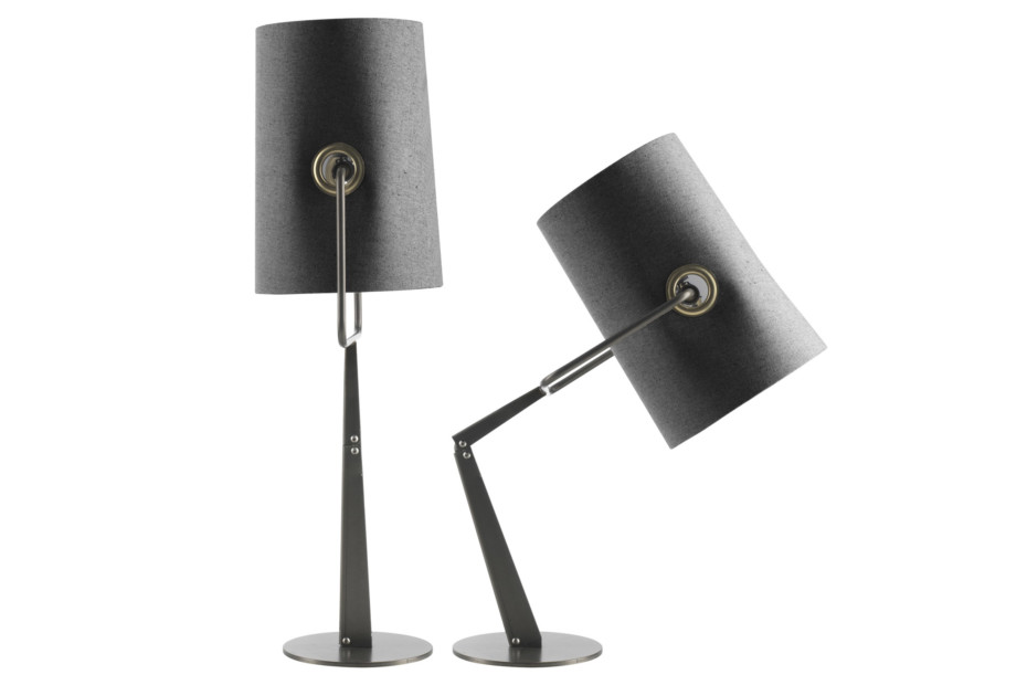 Fork table lamp
