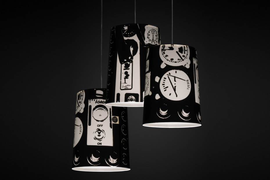 Graf suspension lamp tecno