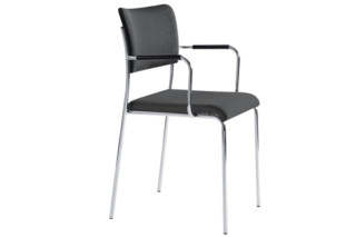 Atrio chair with armrests  by  Dietiker