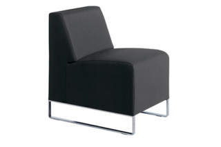 Domino easy chair low  by  Dietiker