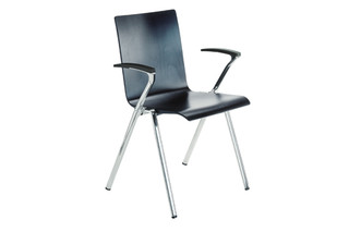 Oneman chair with armrests  by  Dietiker