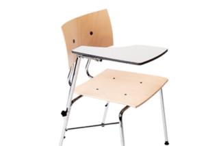 Sparta Stuhl mit Arbeitsplatte  von  Dietiker