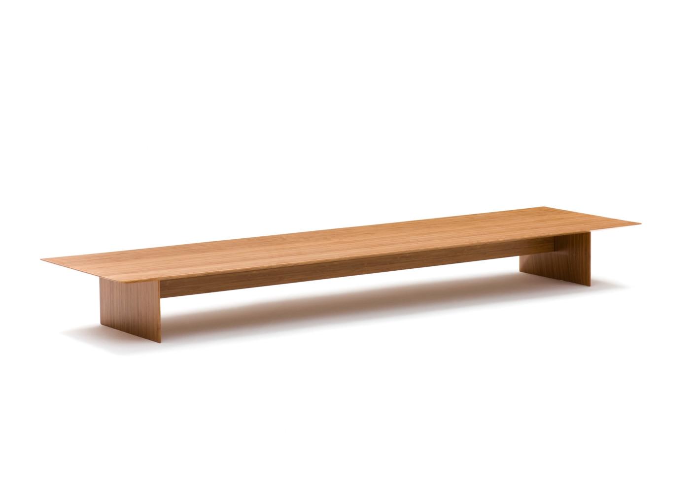 kami bamboo bench by discipline  stylepark -