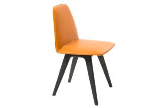 Sila Chair wood frame  by  Discipline