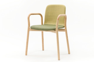 Two Tone chair with armrest  by  Discipline