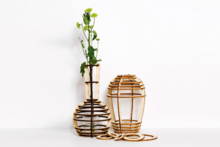 3 Vases  by  Domestic