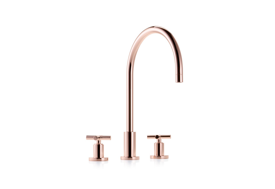 Cyprum Tara three-hole basin mixer