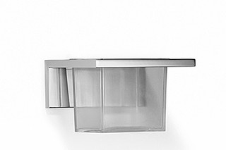 Elemental Spa Glass container wall model  by  Dornbracht