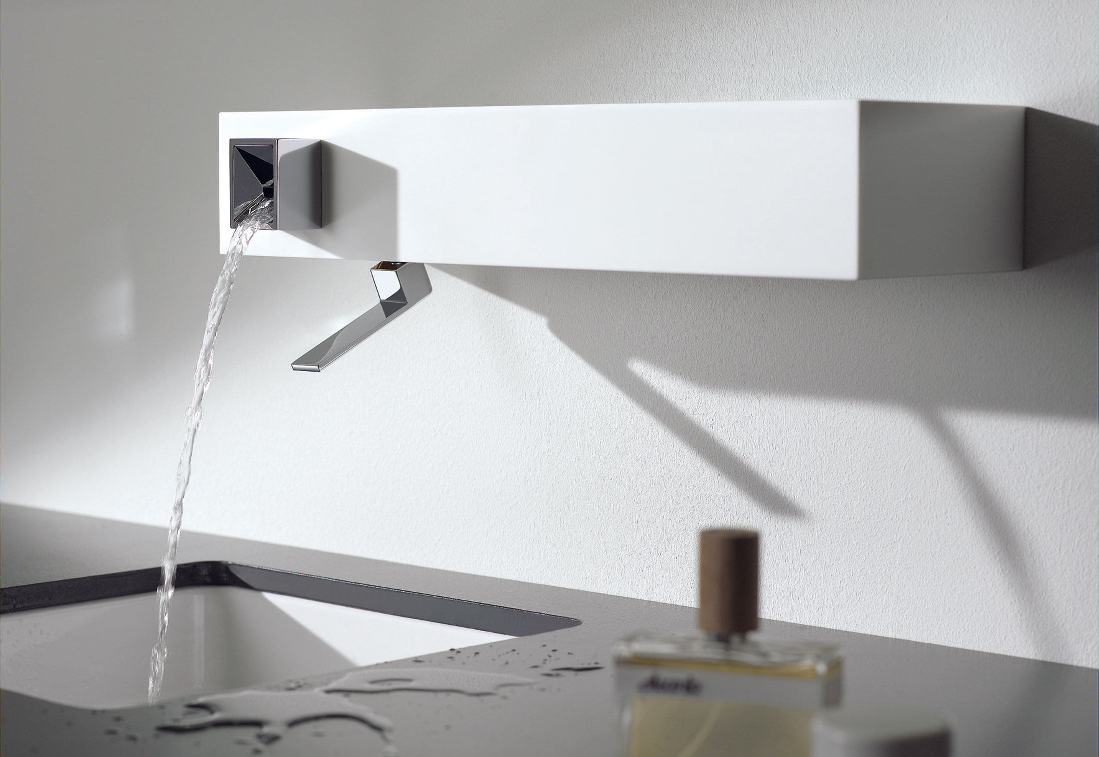 Elemental Spa IAM Wall-mounted single-lever basin mixer ...