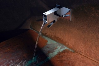 Elemental Spa ITA wall-mounted single-lever basin mixer  by  Dornbracht