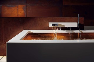 Elemental Spa KATA Wall-mounted single-lever bath mixer with shower set  by  Dornbracht