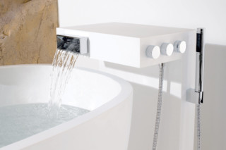 Elemental Spa NOTA Single-lever bath mixer for free-standing assembly  by  Dornbracht