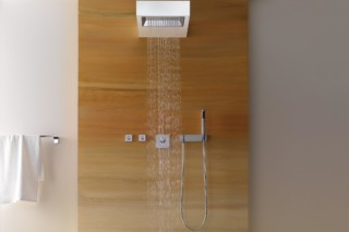 Elemental Spa SANGHA Shower with wall fixing  by  Dornbracht