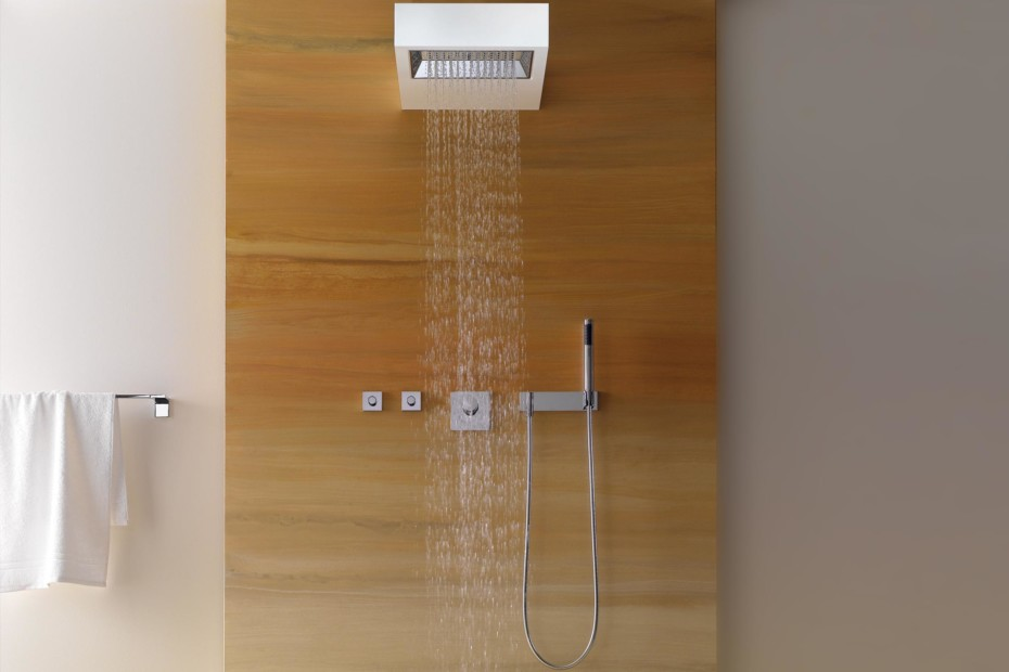 Elemental Spa SANGHA Shower with wall fixing