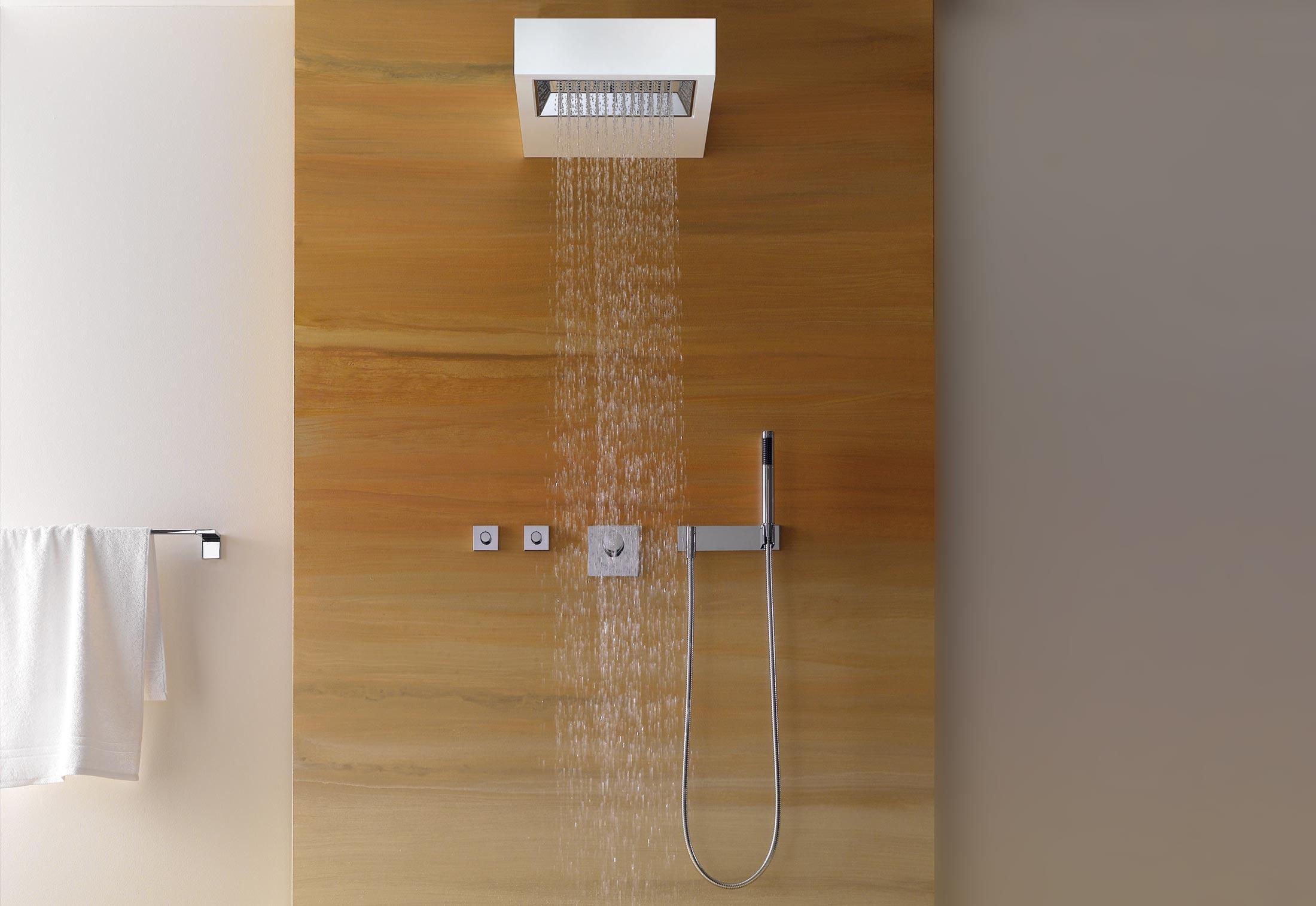 Elemental Spa SANGHA Shower with wall fixing by Dornbracht | STYLEPARK