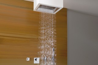Elemental Spa SATI Shower to fix under the ceiling  by  Dornbracht