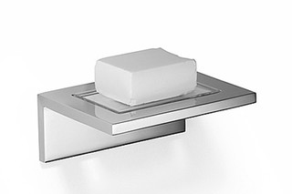 Elemental Spa Soap dish wall model  by  Dornbracht