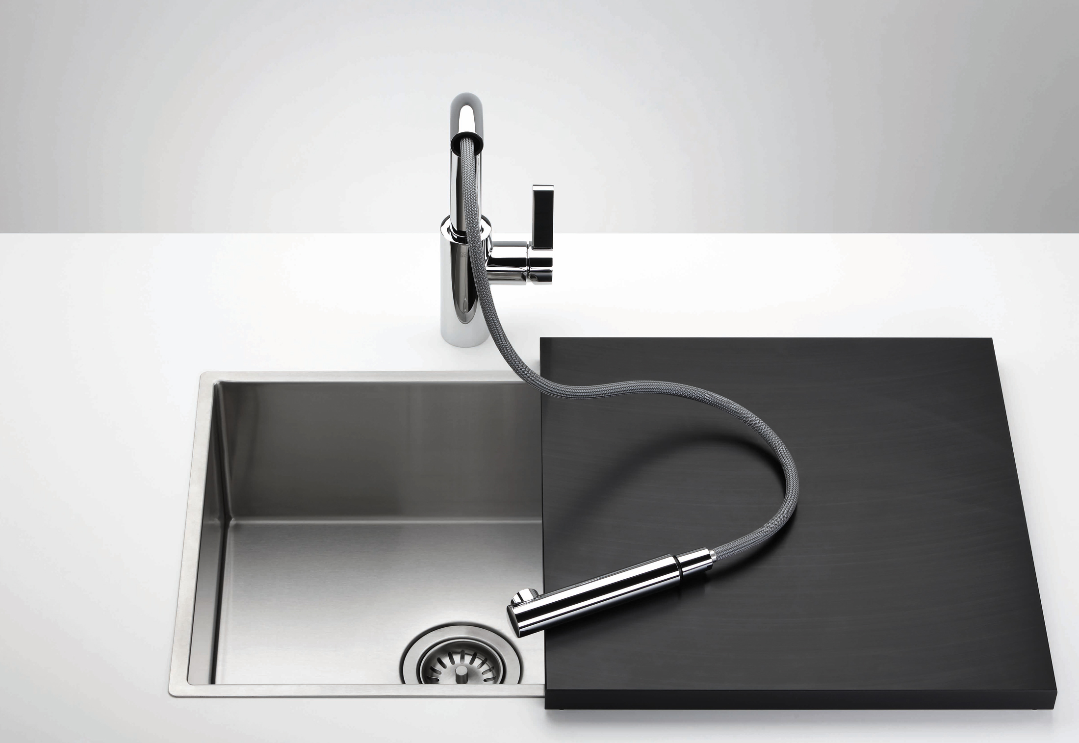 Surprising Elio Single Lever Mixer With Retractable Tip By Dornbracht Home Interior And Landscaping Ponolsignezvosmurscom