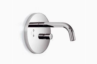 eMote Wall-mounted infrared basin mixer with mixing button round  by  Dornbracht