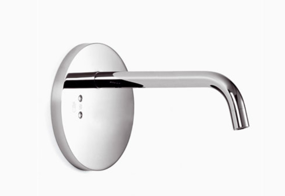 eMote Wall-mounted infrared basin mixer without mixing button long