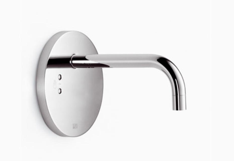 eMote Infrarot-Waschtisch-Wandbatterie ohne Mischknopf rund