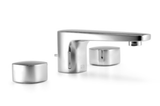 Gentle Three-hole basin mixer  by  Dornbracht