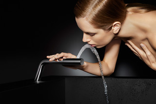 Hydrotherapie basin spout  by  Dornbracht