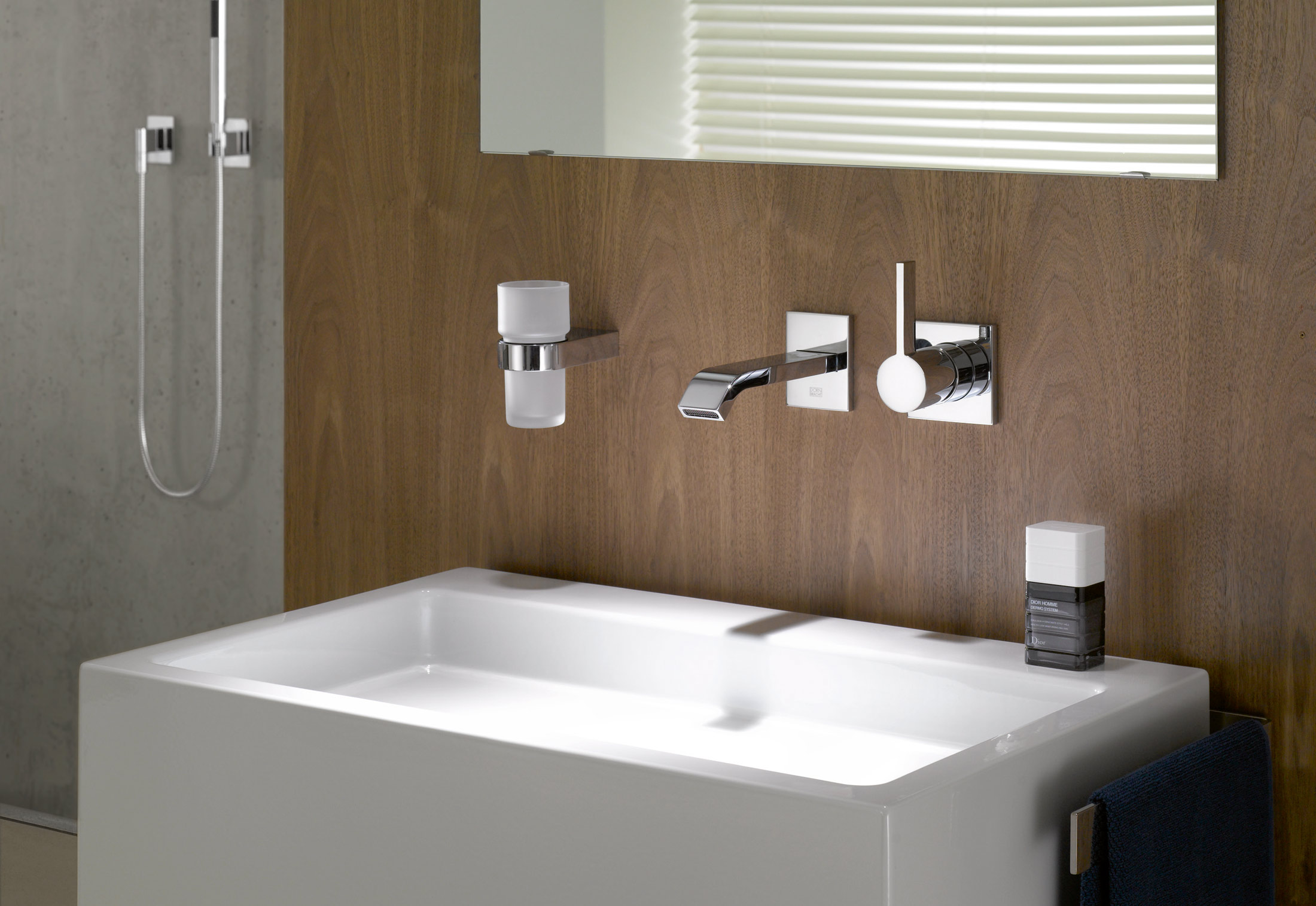 Imo Wall Mounted Basin Mixer By Dornbracht Stylepark