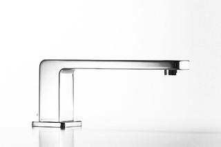 LULU Bath spout with automatic bath/shower diverter  by  Dornbracht