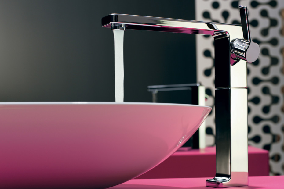 LULU Single-lever basin mixer without pop-up waste