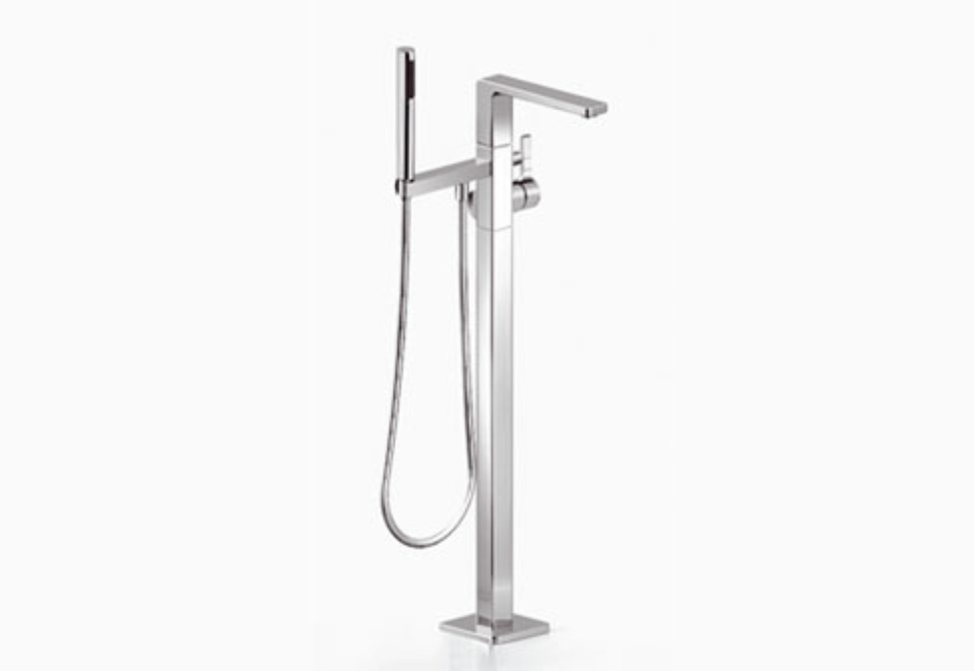 Fabric Exhibition Stand Mixer : Lulu single lever bath mixer with stand pipe by dornbracht