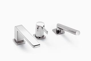 LULU Wannen-Dreiloch-Einhandbatterie für Wannenrandmontage  von  Dornbracht