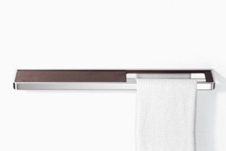 LULU Towel bar with shelf  by  Dornbracht