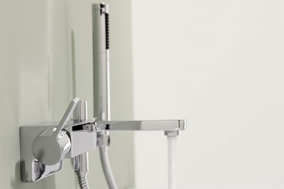 LULU Wall-mounted single-lever bath mixer with/without shower set by ...
