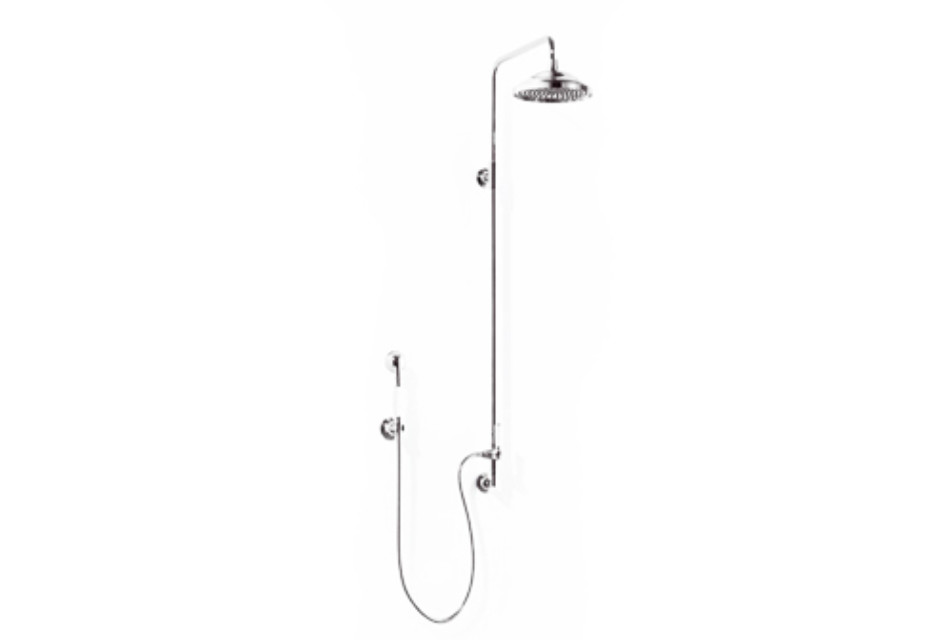 Madison Fixed shower with wall elbow
