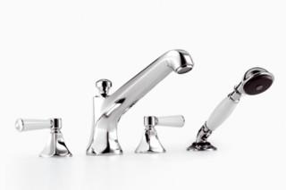 Madison Flair Wannen-Vierlochbattrie für Wannenrandmontage  von  Dornbracht