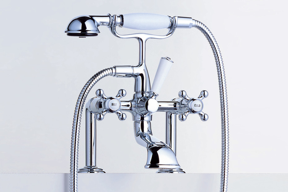 Madison Two-hole bath mixer with stand feet