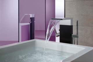 MEM Refinement mixing tap and hand shower  by  Dornbracht