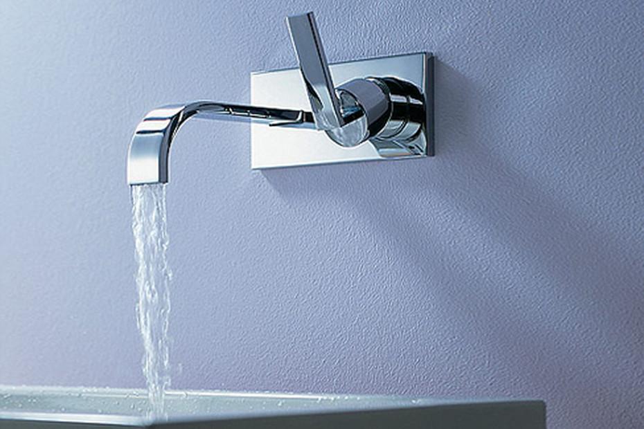MEM Wall-mounted single-lever basin mixer
